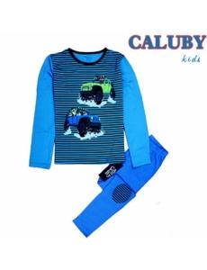 Пижама для мальчика подростковая CALUBY Джип