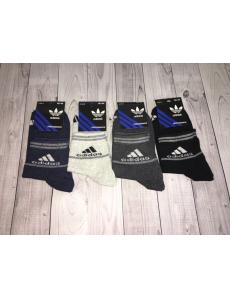 Набор носков 12 шт. Мужские носки спортивные Adidas.