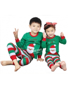 Пижама для девочки/мальчика  CALUBY Санта-Клаус