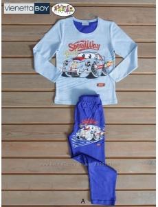 Пижама для мальчика Vienetta Secret, Тачки-Молния Маквин