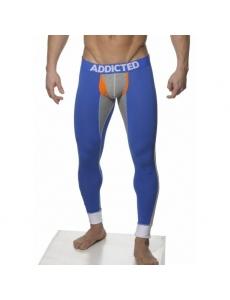 Термобелье мужские кальсоны Addicted, цвет голубой