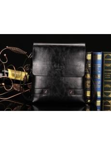 Мужская сумка-барсетка  JEEP цвет черный