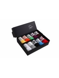 Женское белье трусики стринги Calvin Klein серия Steel в коробке, набор 5 шт