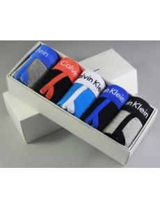 Мужские трусы, белье Calvin Klein 365 в коробке, набор 5 шт.