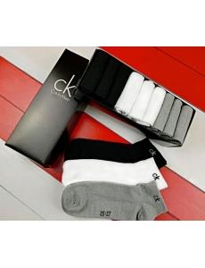 Мужские носки Calvin Klein. Набор носков 9 шт в коробке.