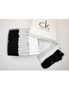 Набор носков 30 шт Calvin Klein в коробке.