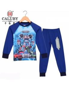 Пижама для мальчика подростковая CALUBY Тобот (Tobot) №1