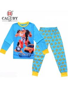 Пижама для мальчика подростковая CALUBY Тобот (Tobot) №2