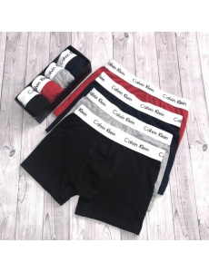 Мужские трусы, белье Calvin Klein в коробке, набор 5 шт.