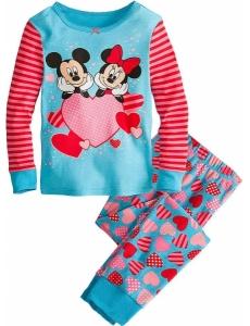 Пижама для девочки GAP Минни и Микки
