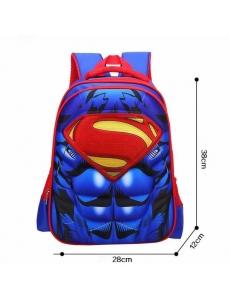 Детский дошкольный рюкзак Супермен (Superman), 3D