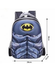 Детский дошкольный рюкзак Бэтмен (Batman), 3D