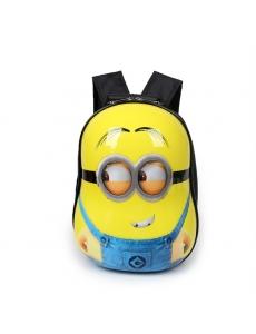 Детский дошкольный рюкзак Миньон - жесткий корпус