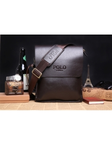 Мужская сумка-барсетка POLO цвет коричневый