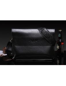 Мужская сумка-барсетка POLO цвет черный
