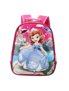 Детский дошкольный рюкзак София Прекрасная,  цвет розовый, 3D