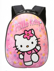 Детский дошкольный рюкзак  Hello Kitty - жесткий корпус
