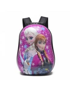 Детский дошкольный рюкзак Фрозен (Frozen), жесткий корпус