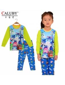 Пижама для девочки/мальчика  CALUBY Робокар Поли №3
