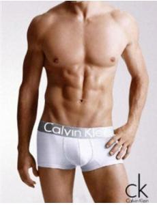 Мужское белье Calvin Klein  Steel цвет белый