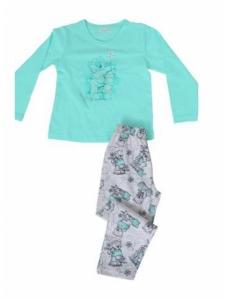 Пижама для девочки Vienetta Secret с мишкой