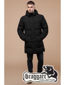 Зимняя мужская и подростковая куртка Braggart. Хит 2019. Цвет черный