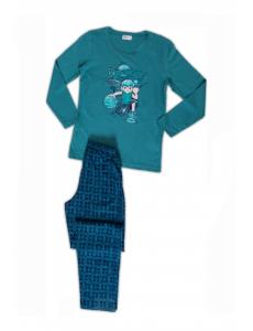 Пижама для мальчика Vienetta Secret с Бен 10, бирюза