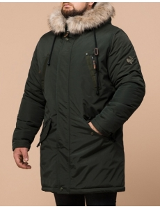 Зимняя куртка парка Braggart Arctic . Парка мужская и подростковая. Цвет хаки